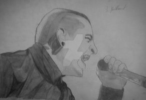 Chester Bennington by Bloudy92