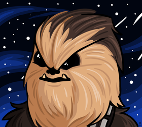 Chewie by Wazzaldorp