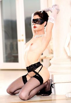 Anne Hathaway as Maid Catwoman 2 (Fake) by DrVillain