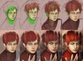 Gaara Process by Suixere