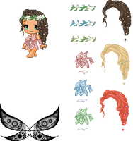Forrest Fairy Edit Pack by Brinjsana