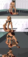 Submission and STOMPING ON YOUR FACE! by markdarko