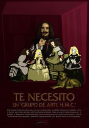 Velazquez Want's YOU by JDeVector
