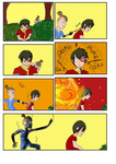 How to Make A Firebender Smile by MadAsAHatter15