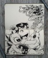 #150 Lilo and Stitch by Picolo-kun
