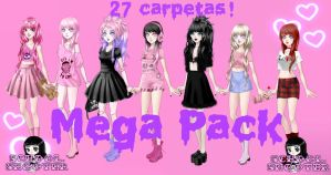 Mega pack 101 Watchers by School-shooter by School-shooter