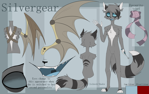 Silvergear Character Reference by Clockwork-Shadow