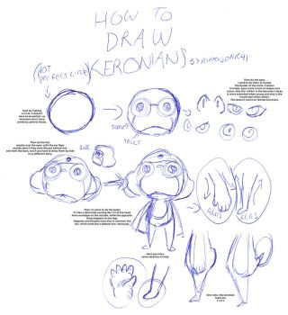 Keronian drawing tutorial by RinkuSonic41