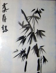 Sumi Bamboo by Chimera-Tears