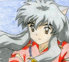 Inuyasha color by amiegirl17