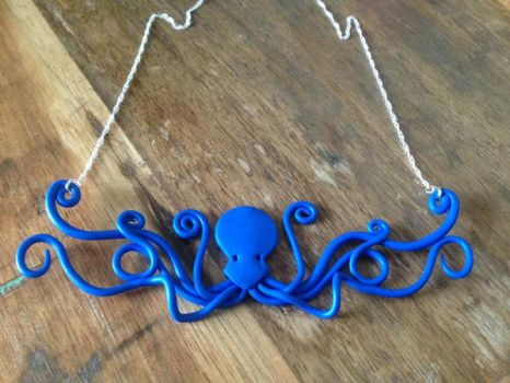 Octopus Statement Necklace by Sigilien