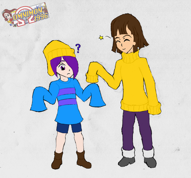Sid and Frisk Swap Part 1 of 2 by Omnimon1996