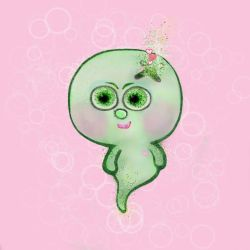 Boo Boo Baby greenie by missingmom