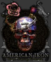 American Iron T-shirt Design _001_Women's by JWraith