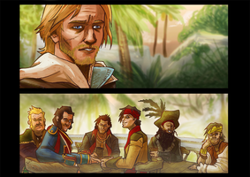 Assassin's Creed IV - The Parting Glass by SentientSpore