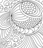 Abstract Lineart 4 by drachenlilly
