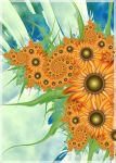Sunflowers for Light by CoffeeToffeeSquirrel