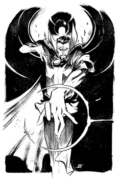DrStrange Commission by JeffStokely