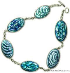 The Abalone Bracelet by Xantaria