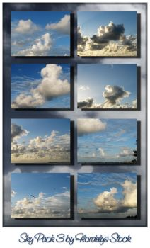 Sky Pack 3 by flordelys-stock