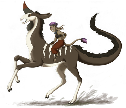 [Dig] galloping by hylidia