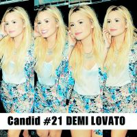 Candid #21 Demi Lovato by SMILERMICHELY