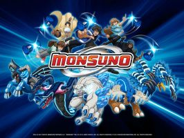 Monsuno Wallpaper by C-McCown