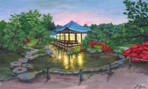 Japanese garden by under-bergets-rot