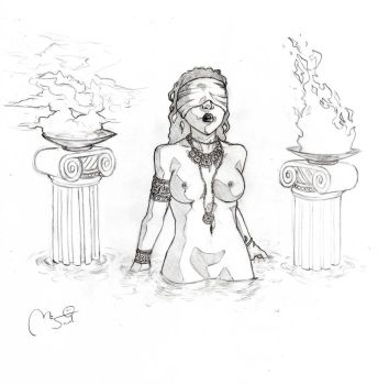 Sketch: The Oracle by MCsaad