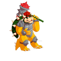 Hammer Slam Bowser by Cayshax