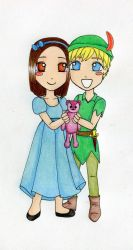 Peter et Wendy by emiana09