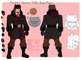 Shintaro Daimon Design by Wolf-con-f