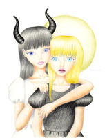 The Saint and the Sinner by PrettyAlice95