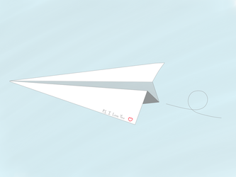 Paper Plane by Scriddles