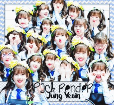[160714] [PACK RENDER ] JUNG YERIN (G-FRIEND) by LuHannie1071999