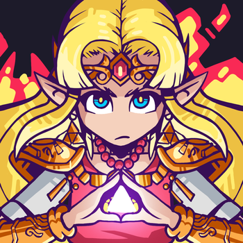 Super Smash Bros Ultimate - Zelda by Undead-Niklos