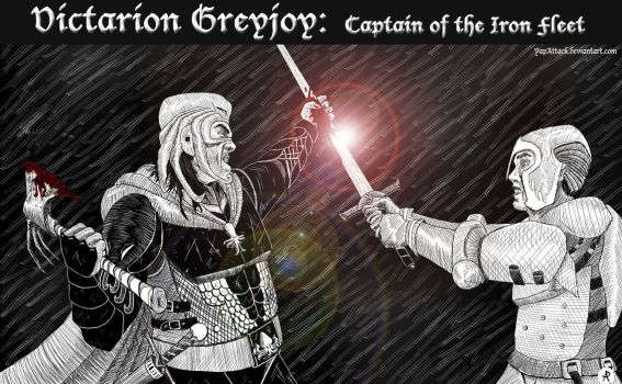 Victarion Greyjoy: Captain of the Iron Fleet by YapAttack
