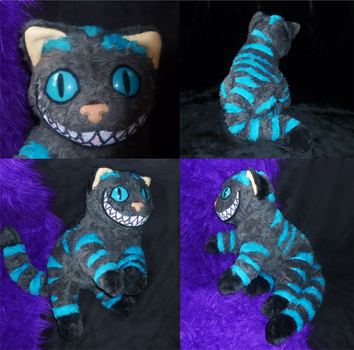 Commission: Cheshire Cat finished by CyanFox3