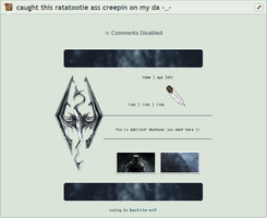 {deco-coding} skyrim by Andrew-Bruh