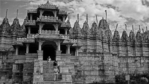 Jain Temple 2 Nr.Uddaipur. India by jennystokes