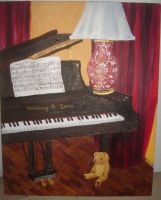 Steinway and Teddy by laufiend