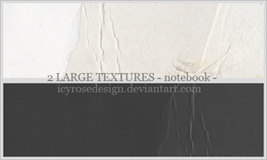 LargeTextures_notebook by icyrosedesign
