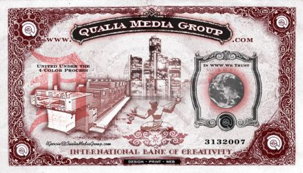 Qualia Flyer -  Currency by xarconix