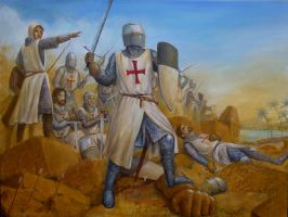 Templar Battle Line by dashinvaine
