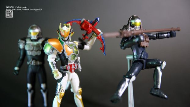 Kamen Rider Gaim Arms Change set 3 by Digger318