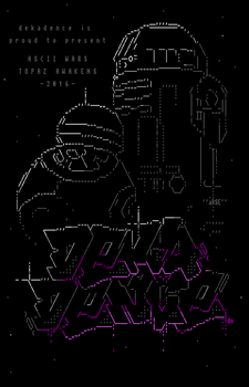 Ascii Wars - TOPAZ AWAKENS - 1 by lordnkon