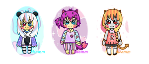 ADOPTABLES [CLOSED] by Klcomm