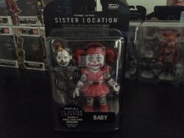 Circus baby figure by fossil-fighter