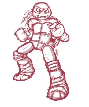 A little too Raph by vilsy