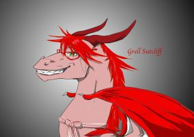 KuroDragons: More Grell by nightwindwolf95